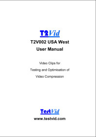 T2V002 USA West user manual extract