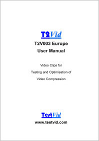 T2V003 Europe user manual extract