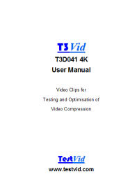 T3D041 4K manual front cover rdcd