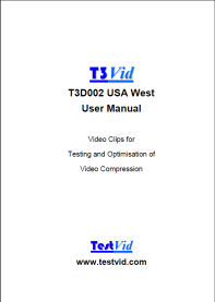 T3D002 USA West user manual rdcd