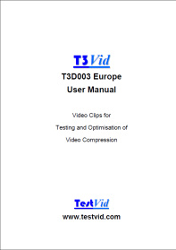 T3D003 manual front cover rdcd