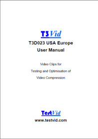 T3D023 USA Europe manual front cover rdcd